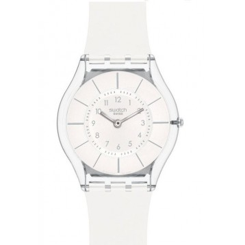 Swatch White Clasiness