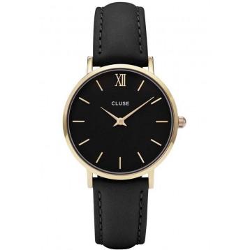 Cluse Minuit Gold Black/Black