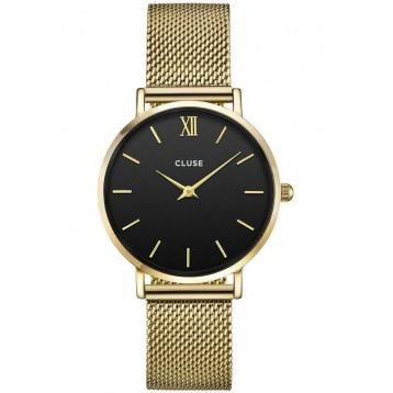 Cluse Minuit Mesh Gold/Black