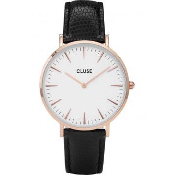 Cluse La Bohème Rose Gold White/Black