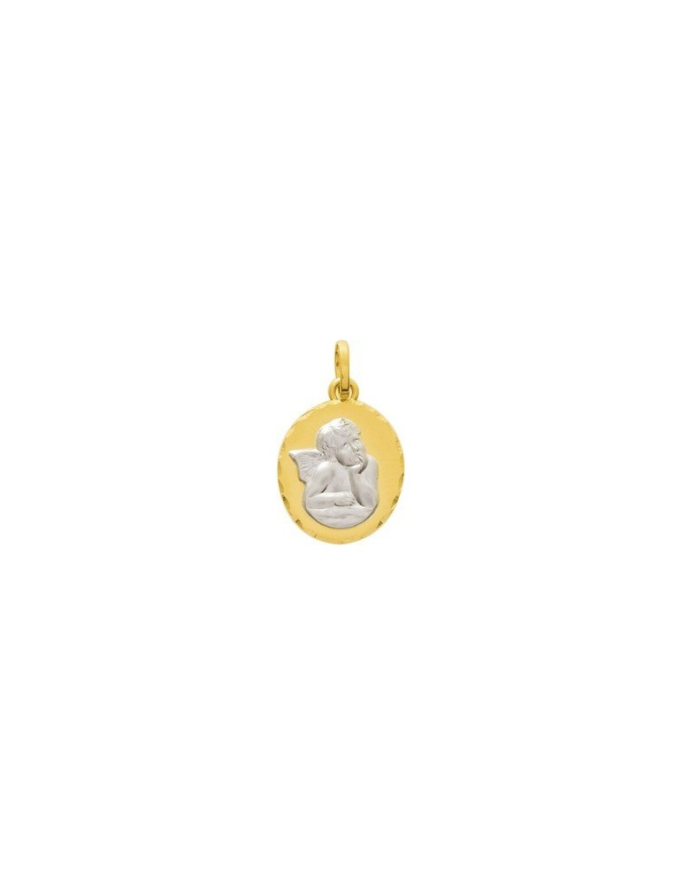 Médaille Ange 2 Ors 18K