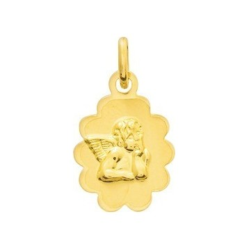 Médaille Ange Or Jaune 18K