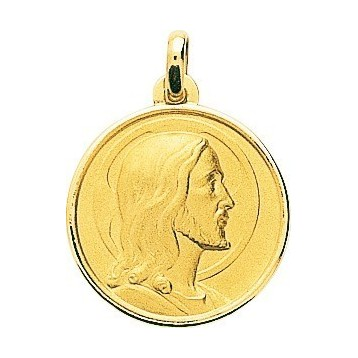 Médaille Christ Or Jaune 18K