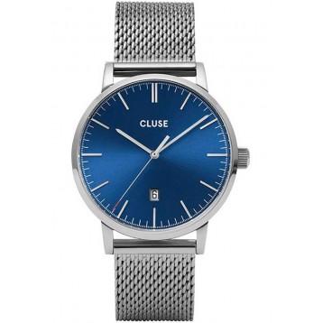 Cluse Aravis Mesh Silver Dark Grey/Silver