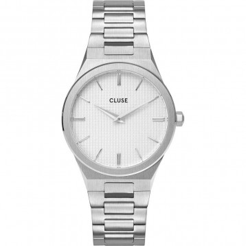 Cluse Minuit 3-Link Silver White/Silver