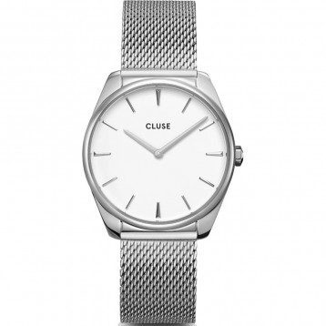 Cluse Féroce Steel Silver White