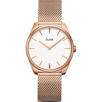 Cluse Féroce Mesh Silver White