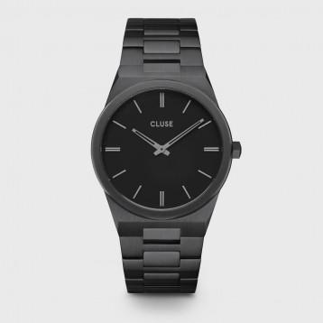 Cluse Vigoureux Steel Silver Black