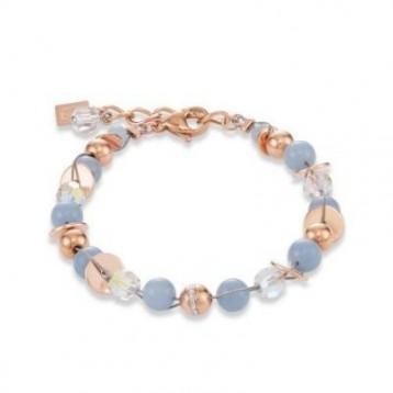 Bracelet Coeur de Lion en pierres naturelles et cristaux sertis en pavé 4993300720