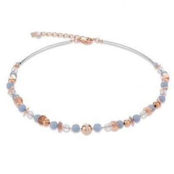 Collier Coeur de Lion en pierres naturelles et cristaux sertis en pavé 4993100720
