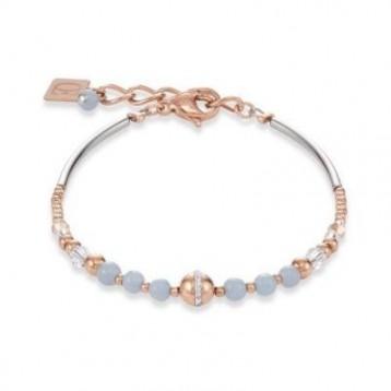 Bracelet Coeur de Lion en pierres naturelles et cristaux sertis en pavé 4992300720