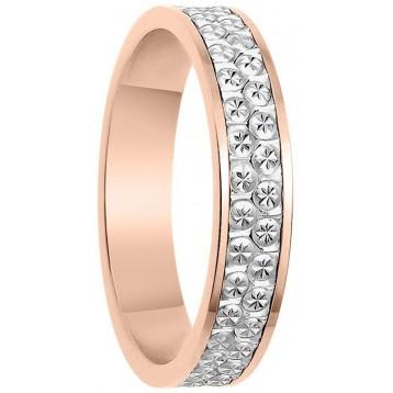 Alliance 2 Ors 18K Diamantée 4mm