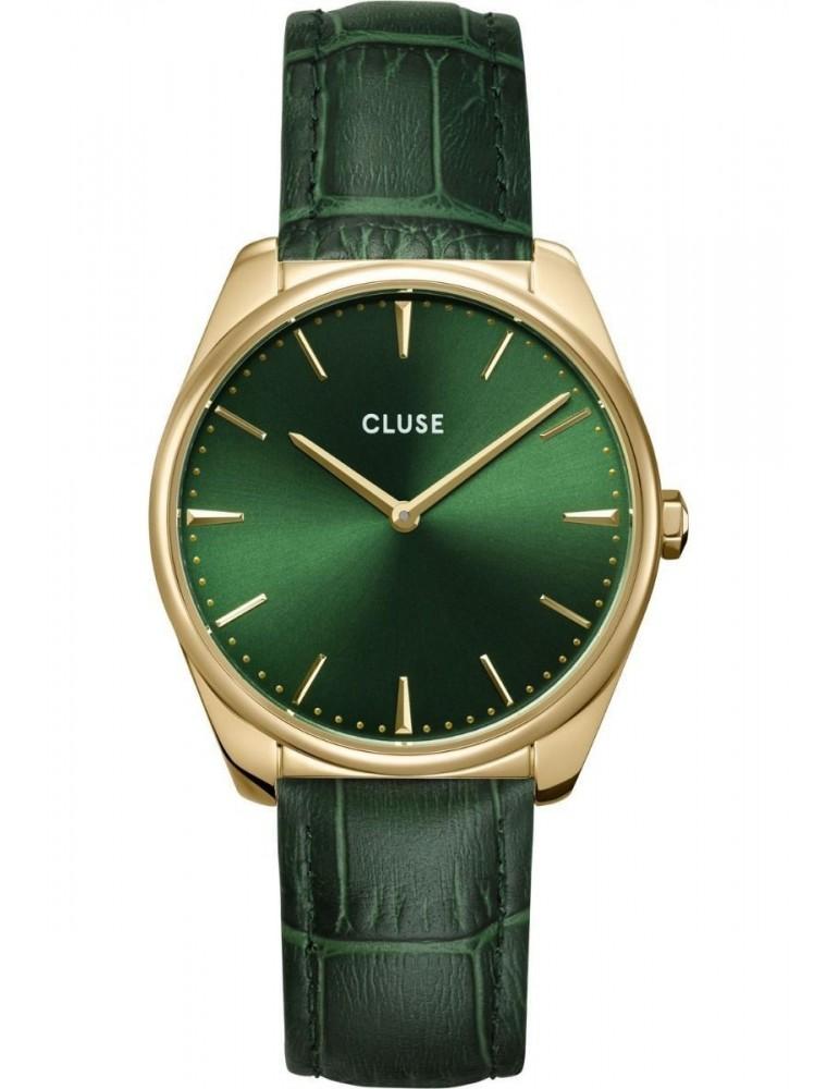 Cluse Minuit Rose Gold White/Grey