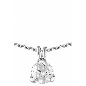 Collier Diamant 0.50ct or...