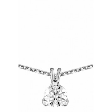 Collier Diamant 0.40ct or...