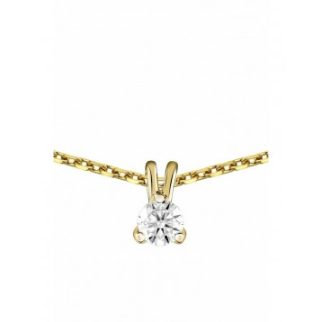 Collier Diamant 0.15ct or...