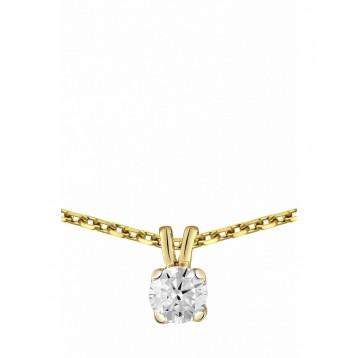 Collier Diamant 0.05ct or...