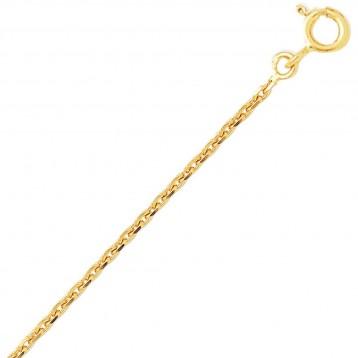 Chaine or jaune 9k maille...