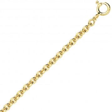 Chaine or jaune 18k maille...